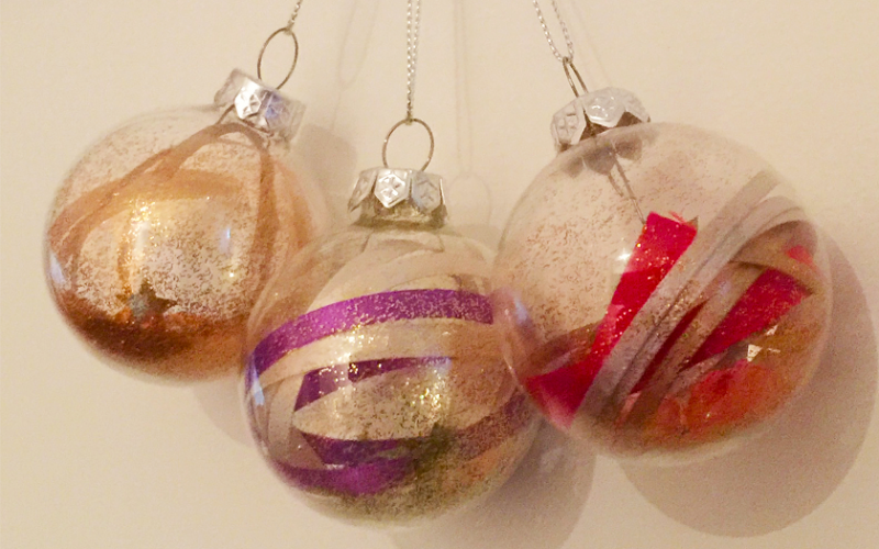 Three ornaments for artile